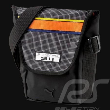 Sac Porsche 911 Puma Sacoche à bandoulière Qualité Premium Noir 07802701 Shoulder bag Umhängetasche