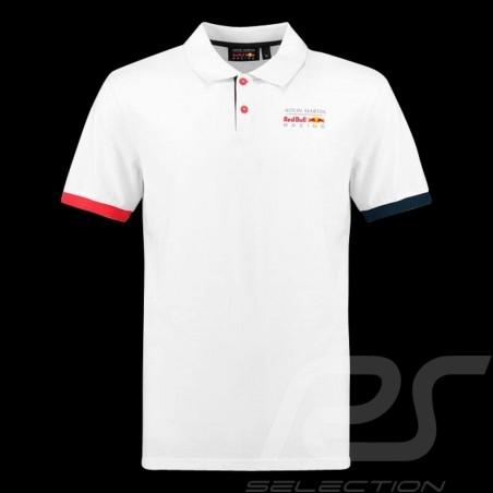 Polo Aston Martin RedBull Racing Classique Shirt hemd Blanc White weiß homme