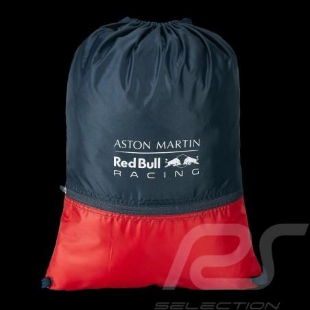 Sac Aston Martin RedBull Racing Laptop / Messenger à cordons Drawstring bag Kordeltasche Bleu marine / Rouge
