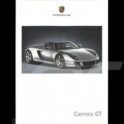 Porsche Brochure Carrera GT 01/2003 in german ref WVK211210