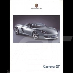 Porsche Brochure Carrera GT Concept 09/00 german/english WVK178812