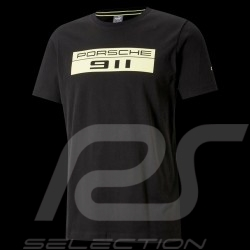 Porsche 911 T-shirt by Puma Big logo Black / Green - Men