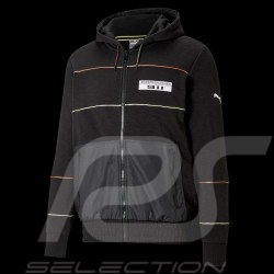 Porsche 911 Jacket by Puma Hoodie sweat jacket Black - Men