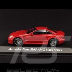 Mercedes Benz SL65 AMG Black Series 2009 rot 1/43 Minichamps 940038221