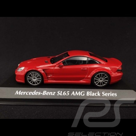 Mercedes Benz SL65 AMG Black Series 2009 red 1/43 Minichamps 940038221