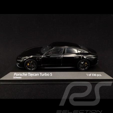 Porsche Taycan Turbo S schwarz 1/43 Minichamps 410068470