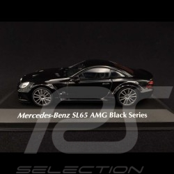 Mercedes Benz SL65 AMG Black Series 2009 noir black schwarz 1/43 Minichamps 940038220
