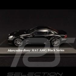 Mercedes Benz SL65 AMG Black Series 2009 schwarz 1/43 Minichamps 940038220