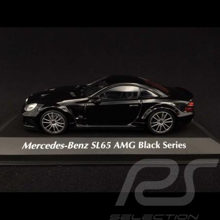 Mercedes Benz SL65 AMG Black Series 2009 black 1/43 Minichamps 940038220