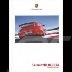 Brochure Porsche La nouvelle 911 GT3 Intensité intérieure 12/2008 en français WSLC0901123730
