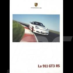 Brochure Porsche La 911 GT3 06/2003 en français WVK20763004