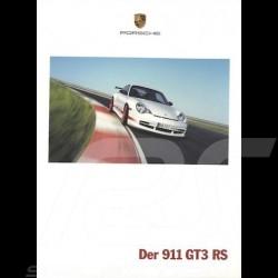 Brochure Porsche Der 911 GT3 RS 06/2003 en allemand WVK20761004
