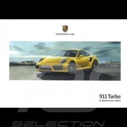 Brochure Porsche 911 Turbo Le charisme par nature 03/2017 en français WSLK1801000230