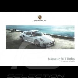 Brochure Porsche Nouvelle 911 Turbo Le charisme par nature 06/2016 en français WSLK1701000130