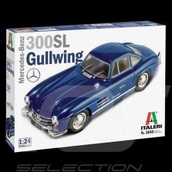 Maquette Kit Modellbau Mercedes-Benz 300 SL 1/24 Italeri 3645