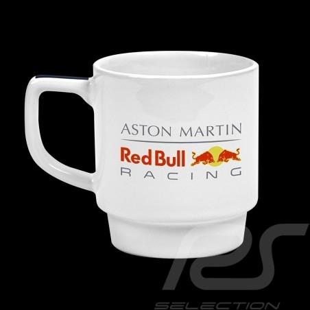 Tasse Aston Martin RedBull Racing Mug porcelaine Becher Weiß White Blanc