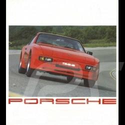 Porsche Brochure Porsche Range 924, 944, 911 and 928 1982 french/dutch