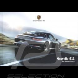Porsche Brochure Nouvelle 911 Turbo Une légende d'avance 07/2015 in french WSRC150104S130
