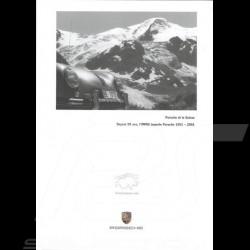 Porsche Brochure  Porsche et la Suisse depuis 50 ans 1951-2001 in french