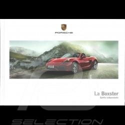Porsche Brochure La Boxster Spirito independente 03/2014 in italian WSLB1501000240