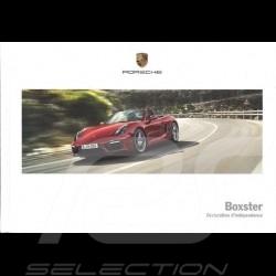Porsche Brochure Boxster Déclaration d'indépendance 03/2015 in french WSLB1601000430