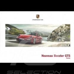 Porsche Brochure Nouveau Boxster GTS Puriste 03/2014 in french WSLB1501000130