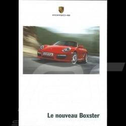 Porsche Brochure Le Nouveau Boxster 08/2008 in french WVK31473009