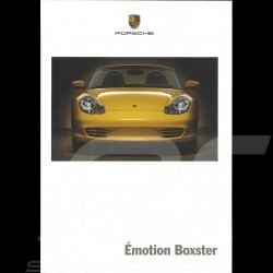 Porsche Brochure Emotion Boxster 04/2003 in french WVK30163004