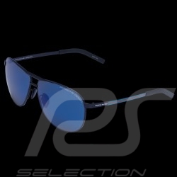 Porsche Martini racing sunglasses Martini stripes frame / blue mirrored lenses WAP0786420KM62 - unisex