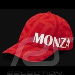 Ferrari Cap Monza F1 Grand Prix Rot