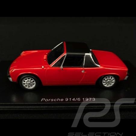 Porsche 914/6 1973 red 1/43 Spark S4563