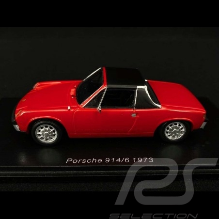 Porsche 914/6 1973 rouge red rouge 1/43 Spark S4563