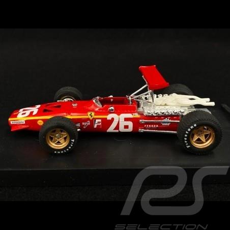 Ferrari 312 F1 Winner Grand Prix France 1968 n° 26  Jacky Ickx 1/43 Brumm R171