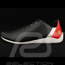 Scuderia Ferrari Sneaker Schuh Pilot Design Puma Ridge Cat Schwarz - Herren