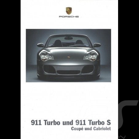 Porsche Brochure The 911 Turbo Coupé and Cabriolet 07/2003 in english WVK21182004