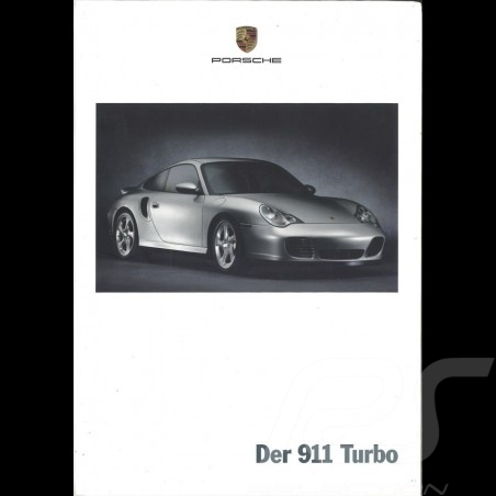 Porsche Brochure Der 911 Turbo 07/2001 in german WVK20011002