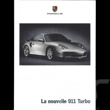 Porsche Brochure La nouvelle 911 Turbo 03/2000 in french WVK17103000