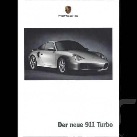 Porsche Brochure Der neue 911 Turbo 03/2000 in german WVK17101000