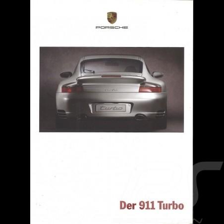 Porsche Brochure La 911 Turbo 07/2001 in french WVK20013002