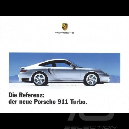 Porsche Brochure Die Referenz: der neue Porsche 911 Turbo 09/1999 in german