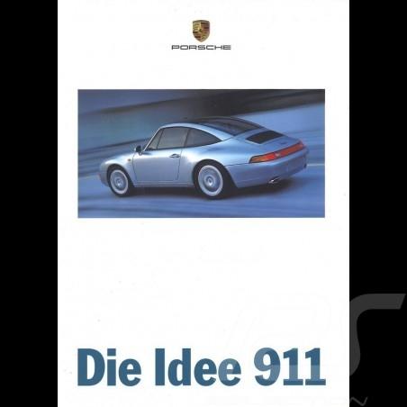 Porsche Brochure Die Idee 911 04/1996 in german WVK19161197