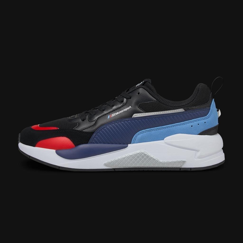 BMW Motorsport Sneaker shoes Puma MMS X-Ray 2.0 Black / Blue / Red ...