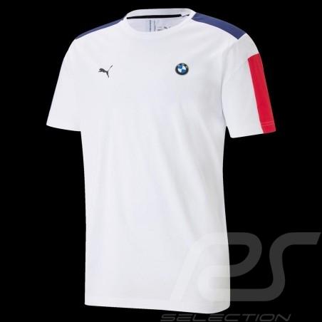 BMW M Motorsport T7 T-shirt by Puma MMS White - Men