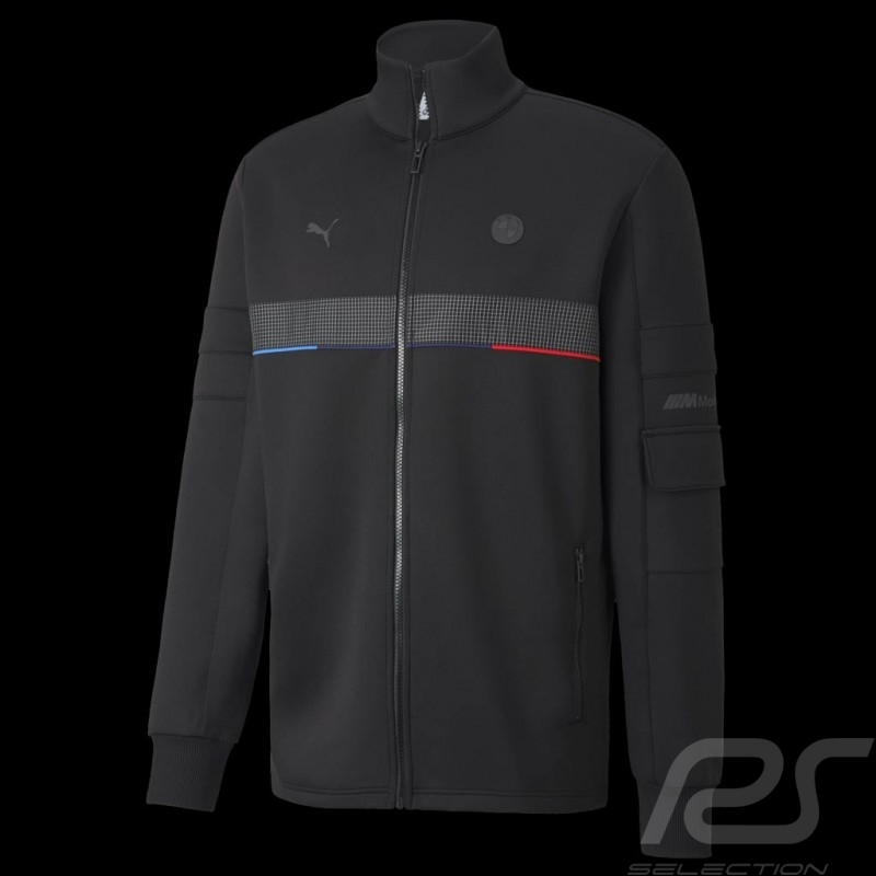 BMW M Motorsport Jacket by Puma Softshell Tracksuit Black - Men