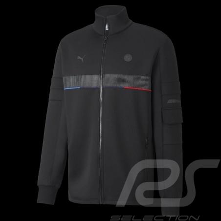 BMW M Motorsport Jacket by Puma Softshell Tracksuit Black - Men