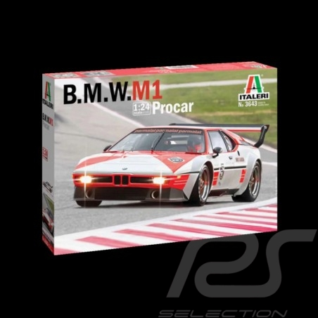 Kit BMW M1 Procar n° 5 Niki Lauda 1979 1/24 Italeri 3643