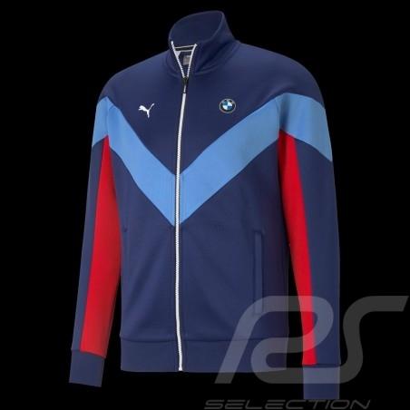 BMW M Motorsport Jacket by Puma Softshell Tracksuit Blue / Red - Men
