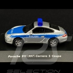 "Porsche 911 type 997 Carrera S coupe ""Polizei"" 1/87 Welly 73117P-SW"