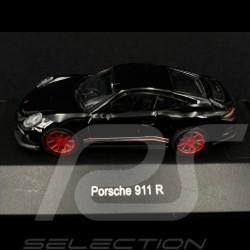 Porsche 911 R Black / Red 1/87 Schuco 452637400