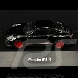 Porsche 911 R noire / rouge 1/87 Schuco 452637400